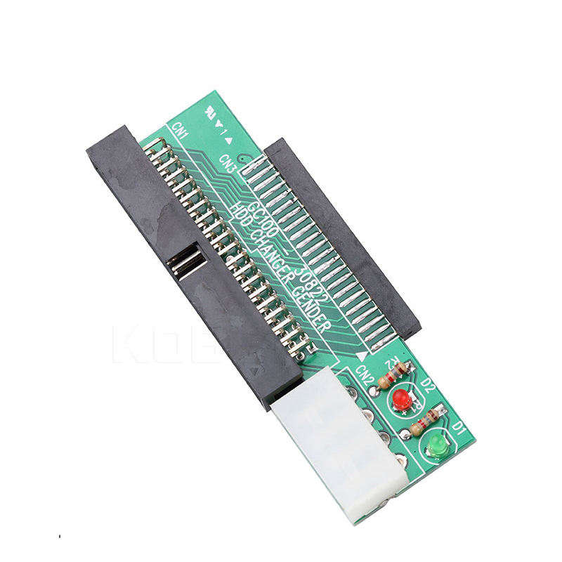 44Pin 2.5 Inch Ide To 3.5 Inch Ide 40Pin Interface Hard Disk Drive Hdd Converter Adapter For Laptop Desktop Pc Computer