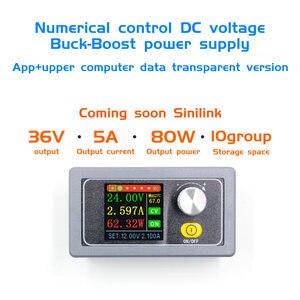 Image 1 - XYS3580 DC DC Buck Tăng Cường Bộ Chuyển Đổi CC CV 0.6 36V 5A Mô Đun Công Suất Có Thể Điều Chỉnh Quy Định Phòng Thí Nghiệm Cung Cấp Điện biến