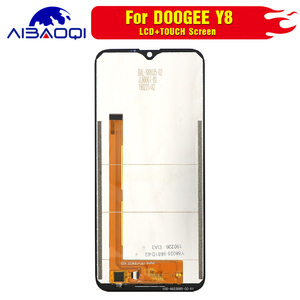 Image 3 - New original Touch Screen LCD Display LCD Screen For Doogee Y8 Replacement Parts + Disassemble Tool+3M Adhesive