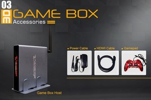 Image 4 - 4K HDMI TV Gaming Edition Host 3D Video Game Console Machine Build In 2000 Free Game with WIFI Support All Game Emulator 10000+