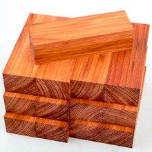 Madera de padauk africana, bloques en blanco, tablero de madera, decoración de madera, bricolaje, piezas en blanco para tornear madera