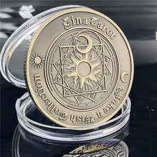 Divination Tarot Commemorative Coin Constellation Feng Shui Auspicious Sun Moon Guanghua Love Coin Wishing Coin