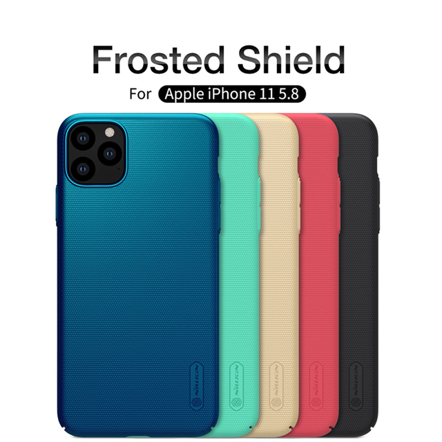 For iPhone 11 Pro Max Case Cover NILLKIN Fitted Cases For iPhone 11 Pro High Quality Super Frosted Shield For iPhone 11 5.8 inch 1