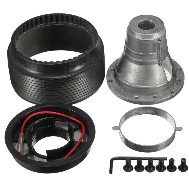 Yaootely 17MM Steering Wheel Hub Boss Kit N-7 fit for S13 S14 S15 R33 R34
