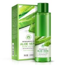 BIOAQUA Natural Aloe Vera Essence Gel Toner Plants Skin Care Moist Hydrating Vintamin C Whitening Remove Acne
