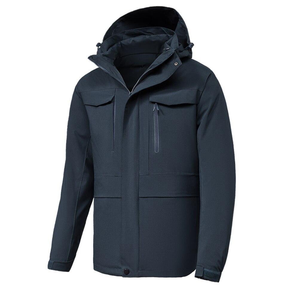 8XL Men Women Winter New Outfit Multi-function Down Jacket Parkas Coat Men Waterproof Warm Hood Thick Duck Down Jackets Coat Men
