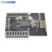Module de Communication sans fil Bluetooth, carte de contrôle RF pour antenne Arduino SPI I2C UART 2.4 GHz, NRF51822 CORE51822 BLE4.0