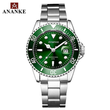 ANANKE Mens Watches Classic Quartz Stainless Steel Strap Luminous Top Brand Luxury Waterproof Resistant WristWatches AN17 цена 2017