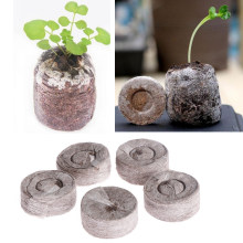 10 Pcs 30mm Pellets Seed Starting Plugs Pallet Seedling Soil Block Seeds Starter Professional Tool Easy to Operate
