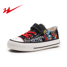 Children Canvas Shoes Boys And Girls Sneakers Sports Child Cartoon Casual Shoes Breathable Denim 2019 Autumn Kids Shoes For Girl цена
