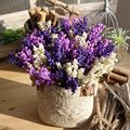 Artificial Lavender Plant Nearly Natural Faux Silk Flowers for Weddings, Crafting, Kitchen Decor or Rustic Home Decor