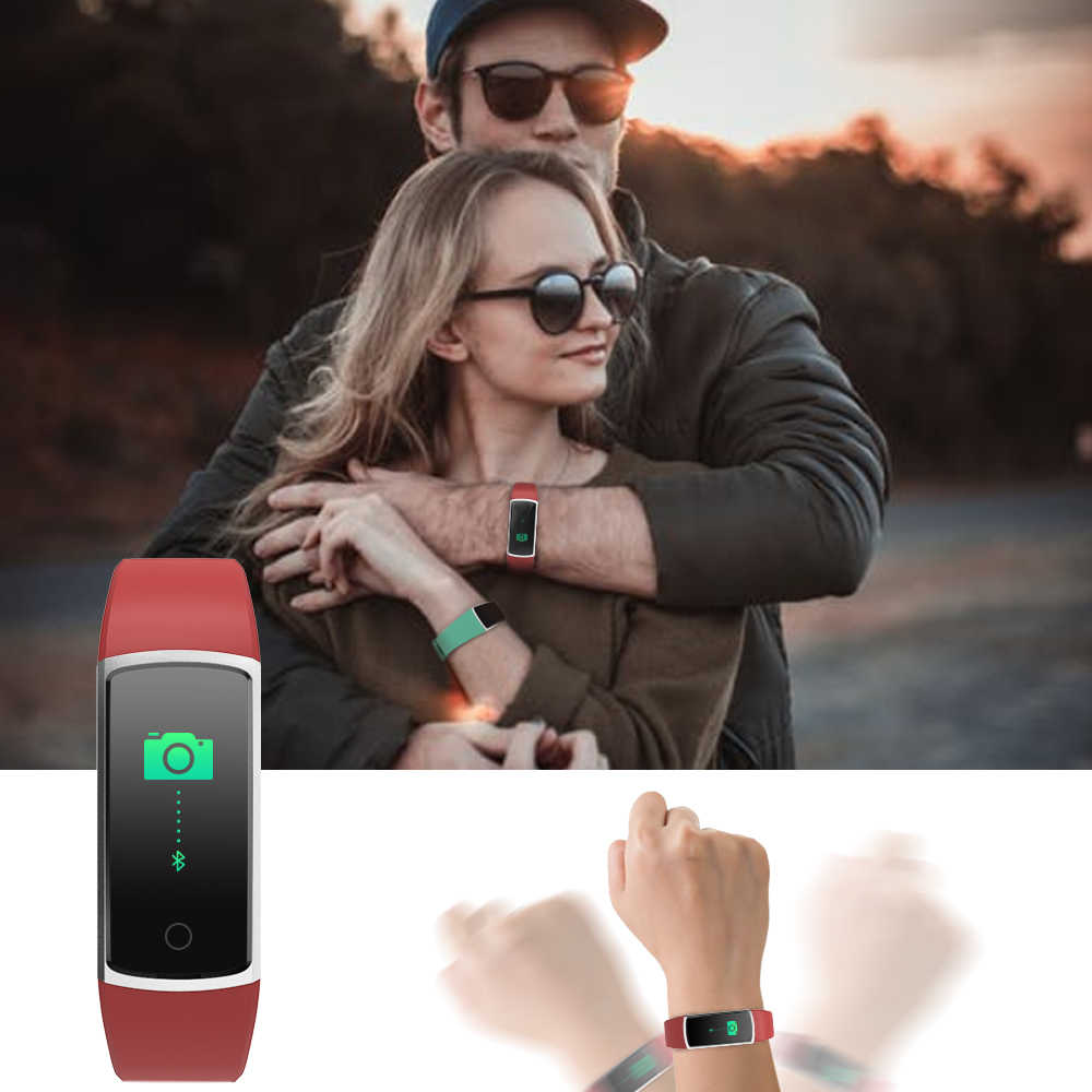 BingoFit Fitness Bracelet 남성용 스마트 시계 Xiaomi Reloj Inteligente IOS 심박수 모니터 Weather Pedometer Smart Bracelet