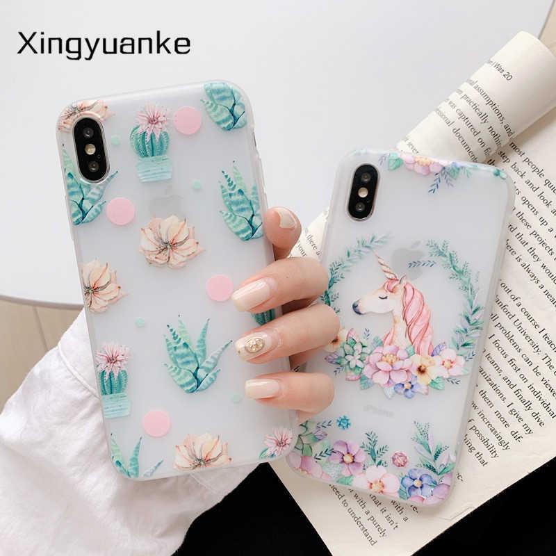 Etui fleurs pour Xiaomi 9T A3 Lite Note 10 étui Silicone pour Redmi Note 4 4X 5 6 6A 7 7A 8 Pro 8A 8T 9S 9 Pro Max 9A S2 3S housse