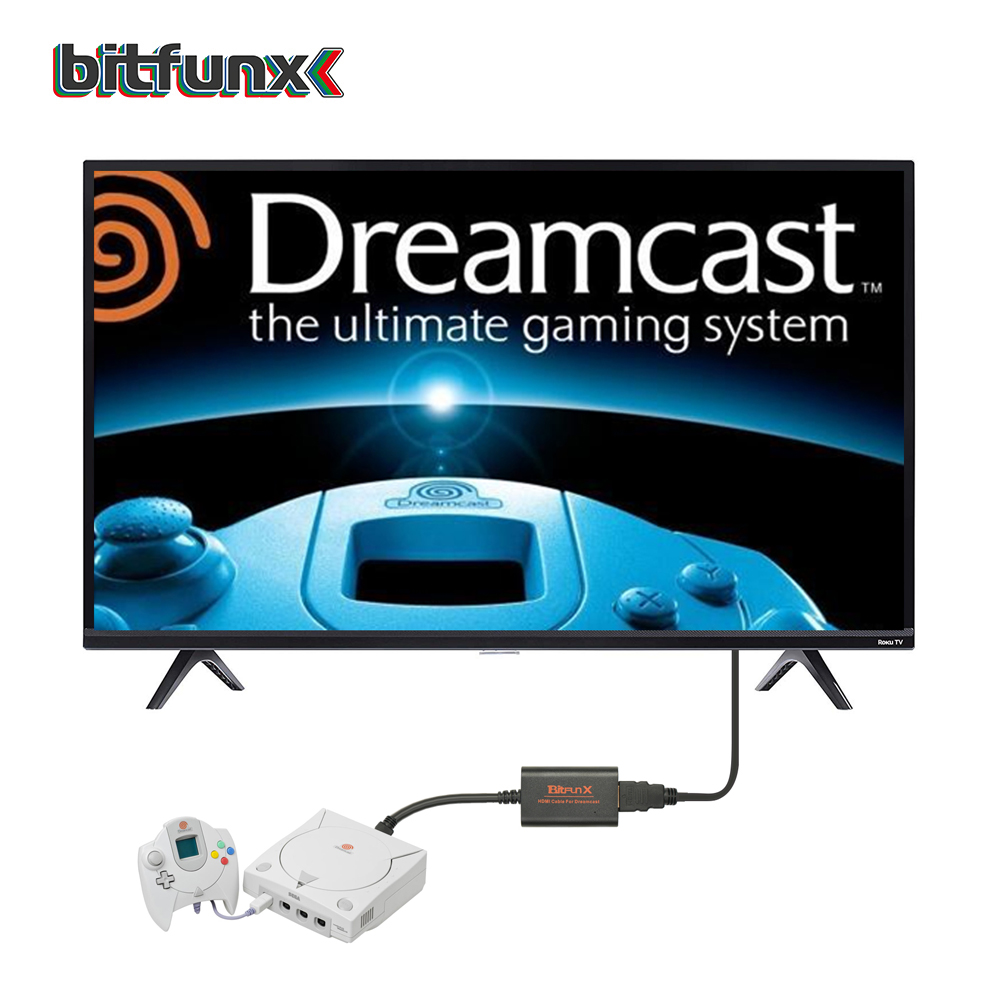 Image 5 - Bitfunx HDMI Adapter for Sega Dreamcast Consoles Dreamcast HDMI/HD Link Cable-in Replacement Parts & Accessories from Consumer Electronics