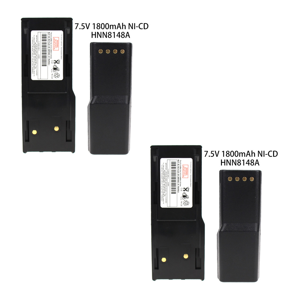 2X RB MOT HNN8148 18900mAh Ni-MH Two-Way Radio Battery For Motorola RADIUS P110