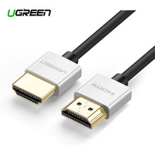 Ugreen hdmi-cabo compatível 4k 2.0 cabo para ps4 apple tv splitter switch box 60hz cabo de cabo de cabo de vídeo de áudio