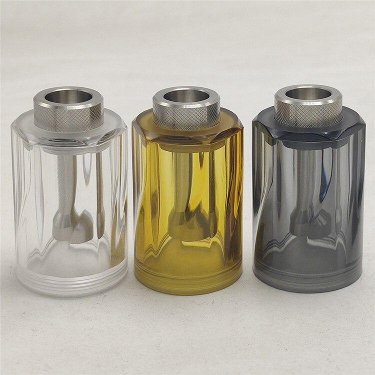 Coppervape Replacement Transparent Diamond Top Cap 4.5ML 22mm For Dvarw 22 MTL RTA Vape Accessories