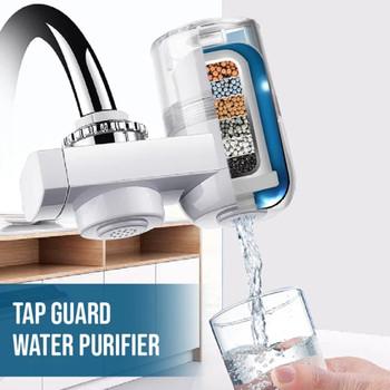 Filtr do wody strona główna kuchnia filtr do kranu oczyszczacz wody wodociągowej filtr do wody wody filtr bezpośredni oczyszczacz wody pitnej filtr do wody + 2 elementy filtra # F tanie i dobre opinie 3 Sztuk