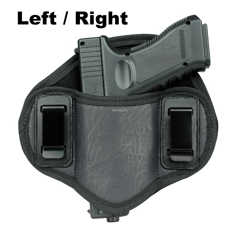 Tactical Concealed Carry Gun Holster IWB OWB Pistol Case Airsoft Gun Pouch for Small Middle Size Handguns Glock Beretta Taurus image