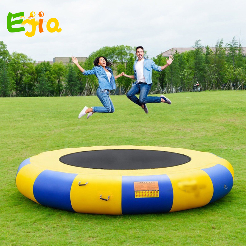 Inflatable Water Trampoline Series Splash Padded Water Bouncer Inflatable Jump Water Trampoline Bounce Swim  For Water Sports