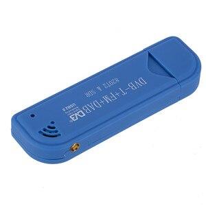 Image 5 - Mini clé de télévision Portable numérique USB 2.0 clé de télévision DVB T + DAB + FM RTL2832U Support SDR Tuner récepteur TV accessoires