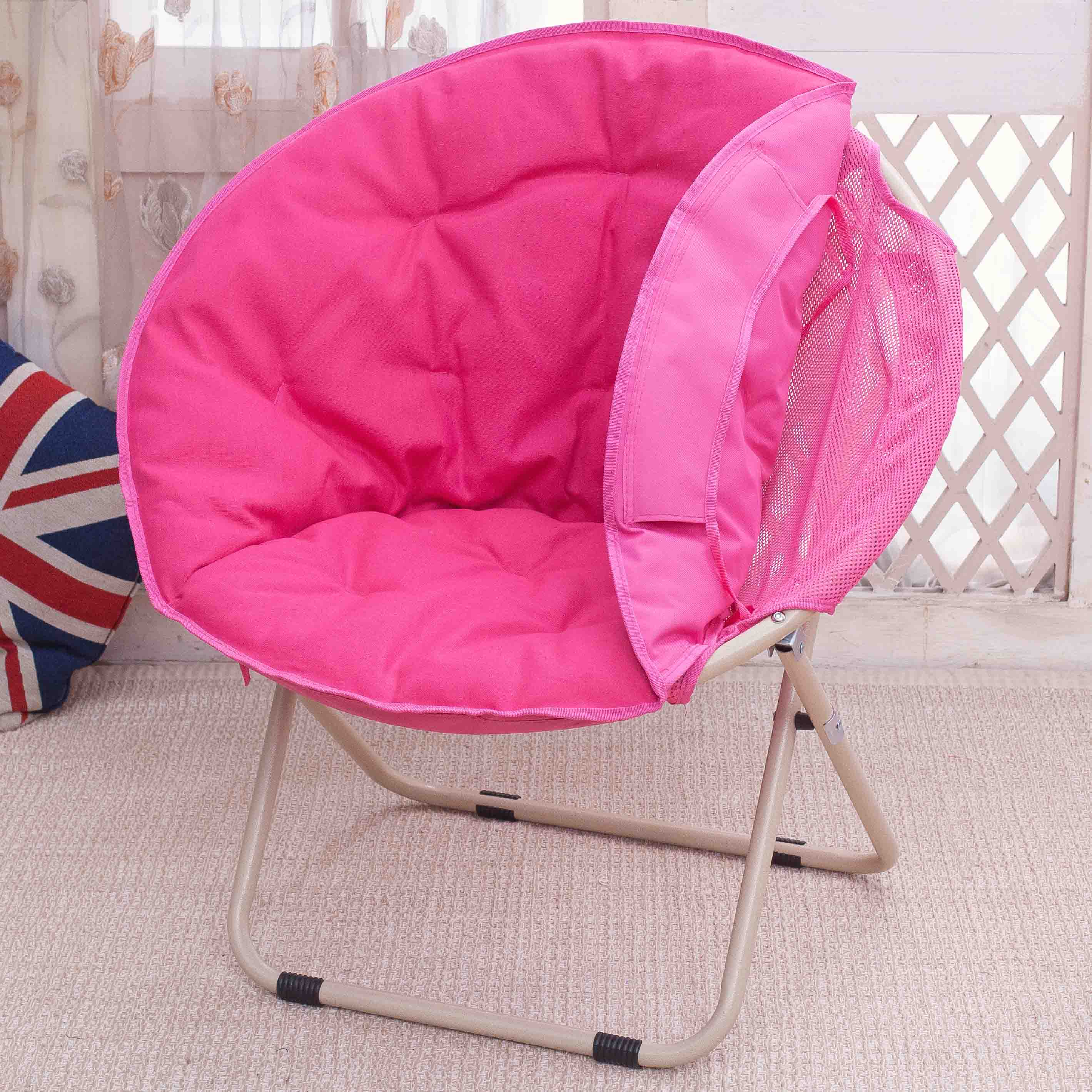 Large Moon Chairs Sun Lounger Lazy Chair Radar Recliner Folding Chair Sofa Back Chair With Removable Cover