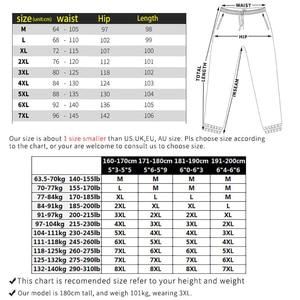 Image 4 - PLUS 7XL XXXXL męskie jesień zima kamuflaż na co dzień Jogger Camo odzież sportowa workowate spodnie haremki spodnie z paskiem spodnie dresowe