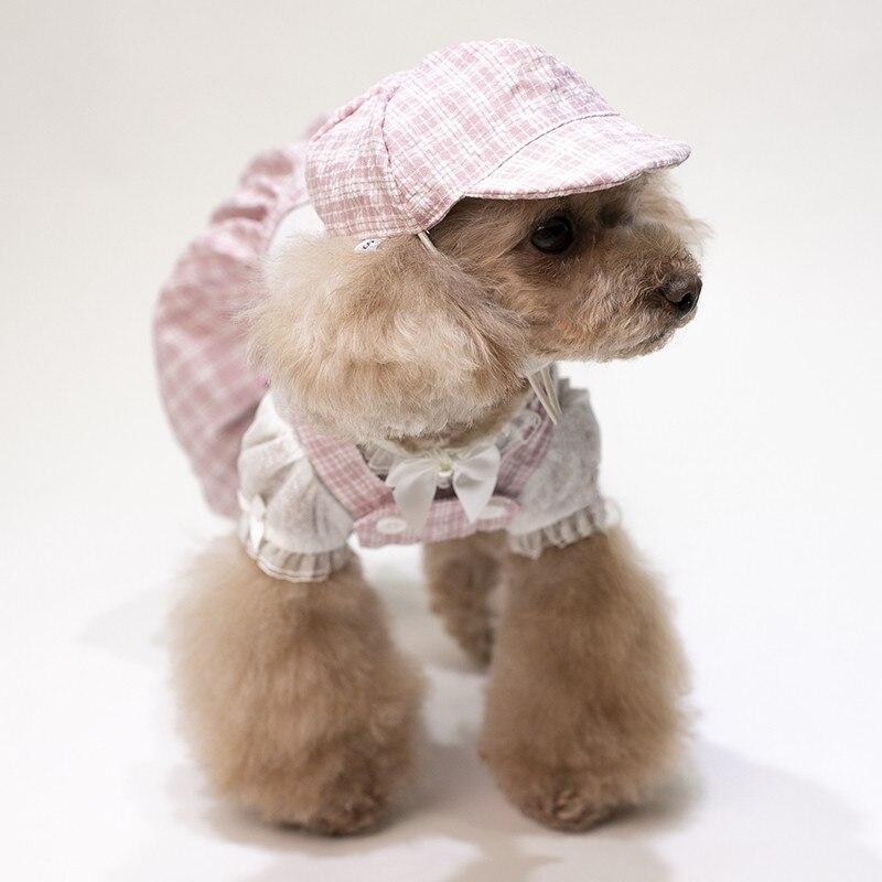 puppy jumpsuit set summer clothes dogs (15)