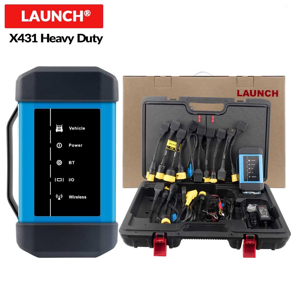 Uruchom X431 Heavy Duty moduł V3.0 dla 24 v narzędzie diagnostyczne do ciężarówki praca z X431 V Pro3 PAD II obsługuje 38 oprogramowanie marki samochodów ciężarowych