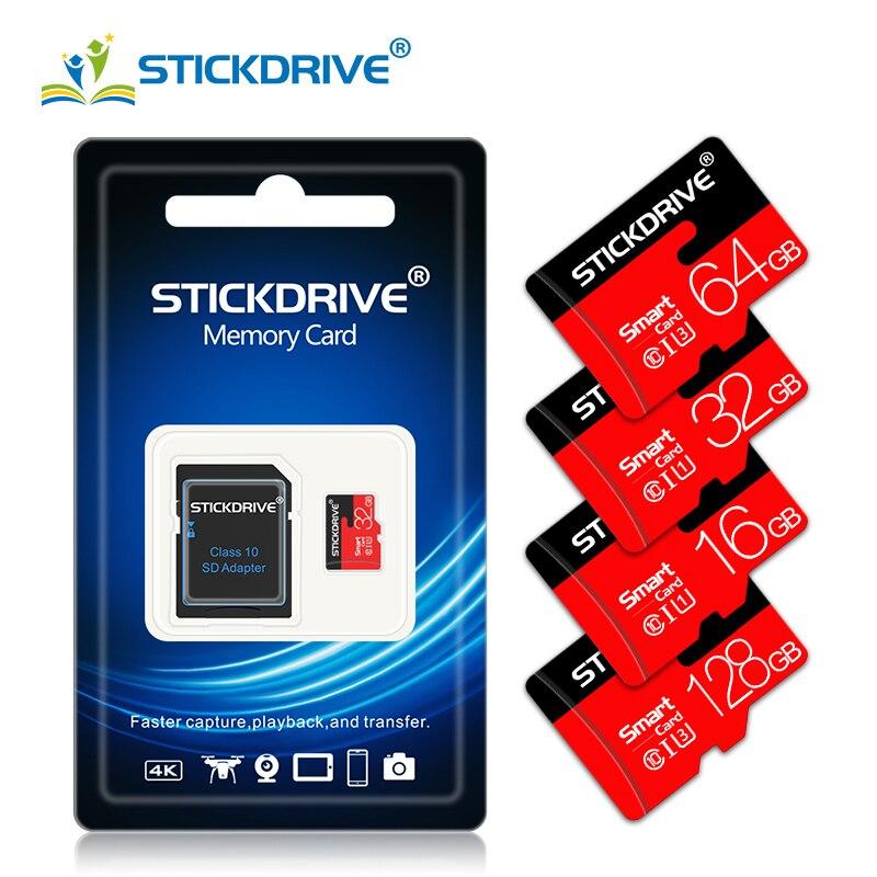 Carte mémoire Micro SD/TF de classe 10, 8 go/4 go/32 go/64 go/128 go, haute réduction, livraison gratuite