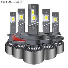 YOTONLIGHT H11 Led Bulb H7 H4 H1 Led Headlight H3 Led Lamp 9005 9006 hb3 hb4 55W 16000lm 9004 9007 H13 H8 H9 d2s 9012 6000k 12V r4 car led headlight kit h1 h3 h7 h8 h9 h11 9005 h10 hb3 9006 hb4 9012 hir2 880 881 d1s d2s d3s d4s auto bulb lamp