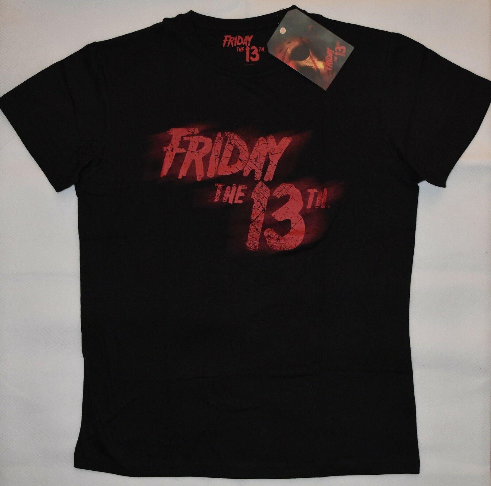 Primark Friday The 13th Mens T Shirt Black Red Horror Film New Uk Size Xl Sleeve Men T Shirt Fashion T Shirts Aliexpress