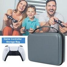 Kontroler do gier torba do przechowywania Gamepad futerał do przenoszenia na PS5 podwójny kontroler do gier s torba do przechowywania twardy uchwyt podróżny do playstation 5