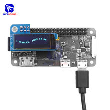 Diymore 0.91 Inch I2C Pi Oled Lcd Display Module 128X32 SSD1306 Driver Voor Raspberry Pi 1, B +, Pi 2, Pi 3 En Pi Nul(China)