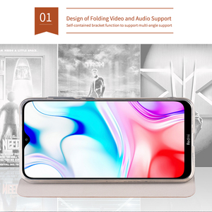 Image 4 - MOFi For Xiaomi Redmi 8 Cases Book Flip Style High Quality Mobile Phone Cases For Redmi 8A Note 8 Pro Stand Cover