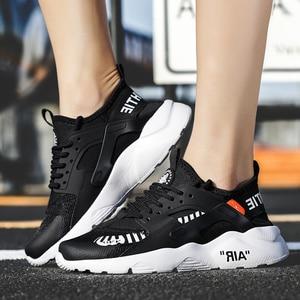 Image 5 - أحذية رجالي قابلة للتنفس 39 ~ 46 خفيفة الوزن 2019 موضة أحذية رياضية للرجال # LAG32