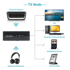 Image 2 - Bluetooth 5.0 משדר ומקלט אלחוטי מתאם סטריאו אודיו 3.5mm Aux שקע מתאמים עבור טלוויזיה לרכב עם שליטה כפתור