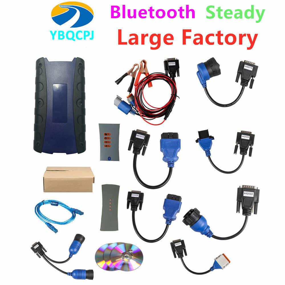 Nhà Máy lớn N2 USB 125032 Kết Nối Bluetooth Cho Xe Tải Cho Volvo ISUZU Nexiq 2 Nặng Xe Tải Chẩn Đoán Cho Kiêm nexiq2 HINO