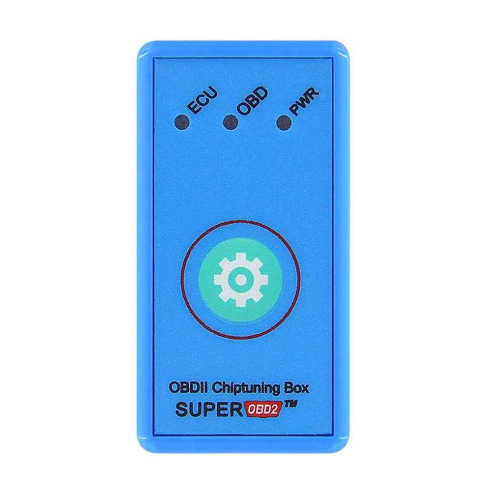 Kuulee bleu OBD2 Plug and Drive Nitro/ECO OBDII Performance puce boîte de réglage pour les voitures Diesel