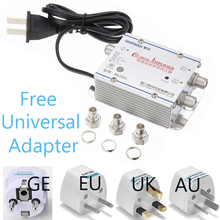 Splitter Antennas Signal-Amplifier Cable Tv CATV To 1 in Home 2-Way 2-Out Tv-Equipments