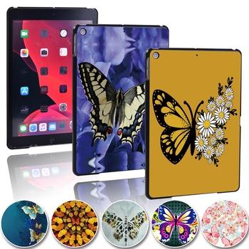 Pokrowiec na Tablet Butterfly dla Apple IPad 2 3 4 iPad Mini 1 2 3 4 5 iPad Air 1 2 3 iPad Pro 9 7 10 5 11 cal ipad 5 6 7 8th tanie i dobre opinie SuanCase Osłona skóra 7 9 9 7 10 2 10 5 11 inch CN (pochodzenie) Drukuj Na co dzień Odporny na wstrząsy Odporność na spadek