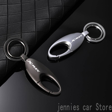 Universal fashion motorcycle Alloy Keyring Keychain for Yamaha XMAX X MAX 125 250 300 400 2017 2018 2019 2020 Accessories