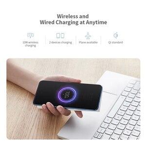 Image 5 - Original Xiaomi Wireless Power Bank Powerbank 10000mAh Portable Charger USB C Batterie Externe Bateria Externa Mi Power Bank
