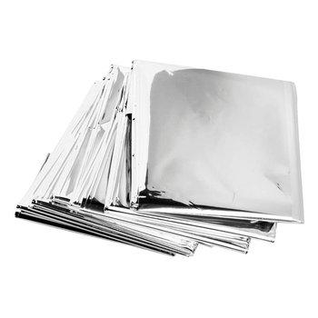 130x210cm koc ratunkowy termiczna pierwsza pomoc przetrwanie srebrna folia wodoodporne wycieczki ratownicze zestaw na zewnątrz tanie i dobre opinie OUTAD CN (pochodzenie) Other wyszywana Podróży Emergency Rescue silver PET film and coating