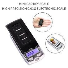 Электронные карманные мини-весы 100 г * 0,01 г, с ЖК-дисплеем, для ювелирных изделий, золота, весов, г