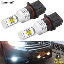 Bombillas LED Canbus P13W PSX26W para Toyota Highlander, lámpara de circulación diurna DRL para conducción de luz LED antiniebla para coche (2) sin Error, 2011-2015