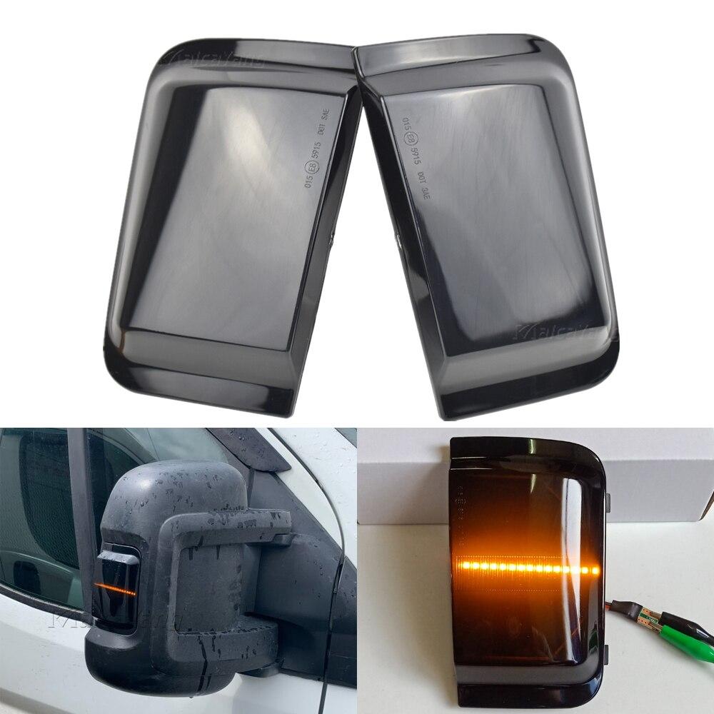Led transformar a luz do sinal para peugeot boxer fiat ducato citroen jumper carro espelho retrovisor lateral indicador sequencial dinâmico blinker
