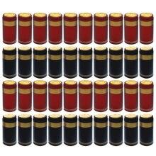 100pcs Heat Shrink Capsules Wine Bottle Capsules Wine Heat Shrinkable Cap Wine Shrink