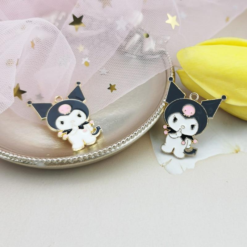 10pcs Cartoon figureEnamel Charms Pendants Cute Dancing Snowbaby Metal Charms DIY Bracelet Earrings For Jewelry Accessories 5