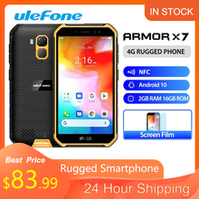 Ulefone Armor X7 Rugged Waterproof Smartphone 5.0-inch Android 10 Cell Phone 2GB 16GB ip68 Quad-core NFC 4G LTE Mobile Phone
